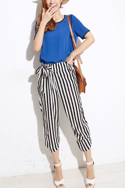 Harem Pants make a killer summer ensemble.