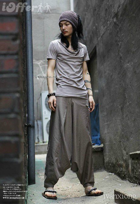 Dude Harem Pants - effortlessly cool.